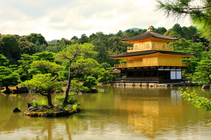GOLDEN PAVILION, KINKAKUJI TEMPLE